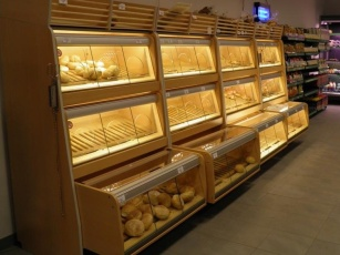 Shop furniture shelving for shops refrigerated counters cash desks equipment for shops and warehouses Poland